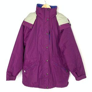 Vintage Womens LL Bean MADE in USA Winter Jacket L